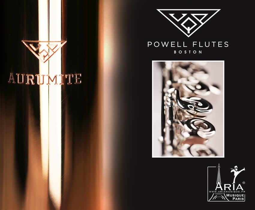 Powell Flutes Aurumite 14k Gold Ruby